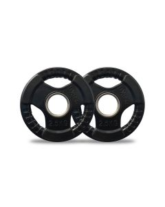 2.5kg Olympic Rubber Weight Plates Pair