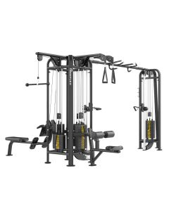 Reeplex Commercial Pin Loaded 5 Station Jungle Gym