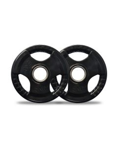 5kg Olympic Rubber Weight Plates Pair