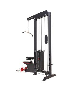 Reeplex Lat Pulldown + Row Machine with 140kg Stack