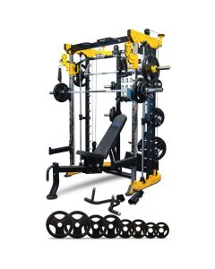 Reeplex CBT-PL Functional Trainer Bench 100kg Weight Plates