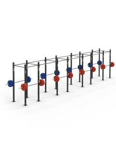 8 Cell Free Standing Rig with J-hooks