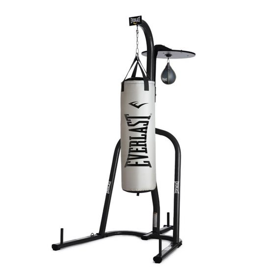 Everlast punching bag with stand and Speedball Set