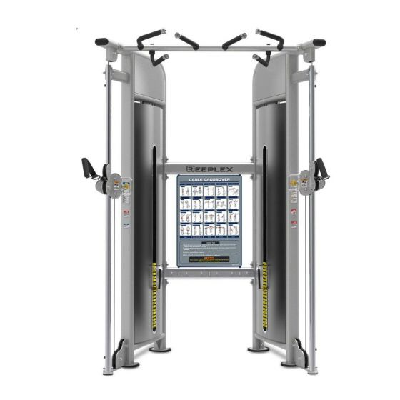 Reeplex Commercial Pin Loaded Functional Trainer
