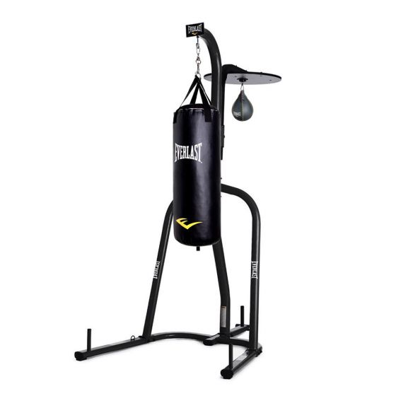 Everlast Boxing Stand with Boxing Bag & Speed Ball