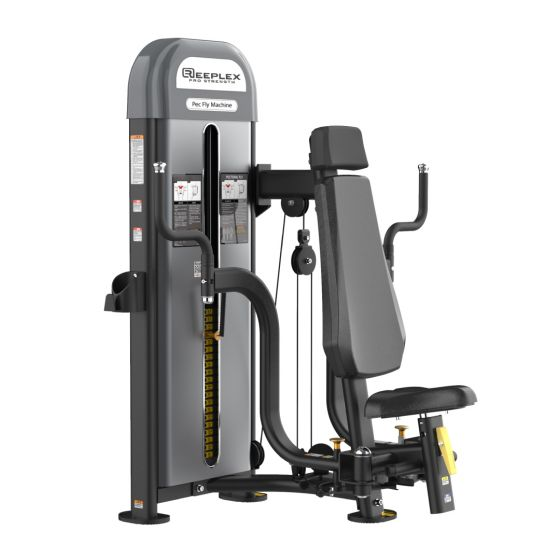 Reeplex Commercial Pin Loaded Pec Fly Machine