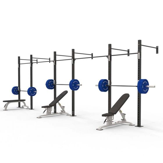 Reeplex Commercial 3 squat cell wall-mounted rig