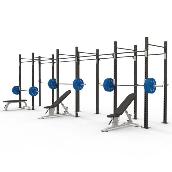 Reeplex 6 Squat Cell Free Standing Commercial Rig