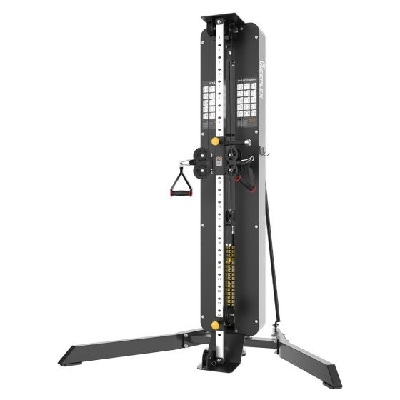 Adjustable Dual Pulley Functional Trainer Reeplex Commercial
