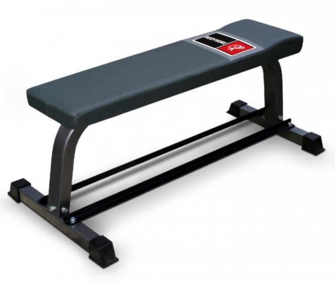 FB320 Flat Bench with Dumbbell Rack